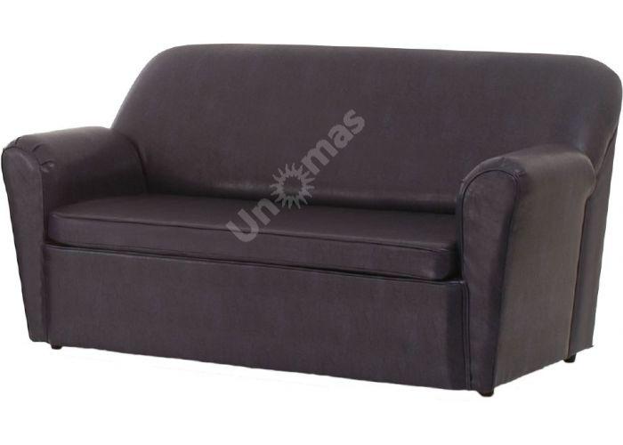 Моника диван 3-х местный иск. кожа PV, Мягкая мебель, Прямые диваны, Стоимость 14327 рублей.