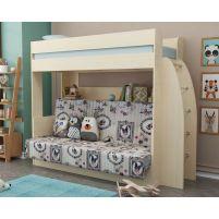Омега 17 кровать-диван 2-х ярусная