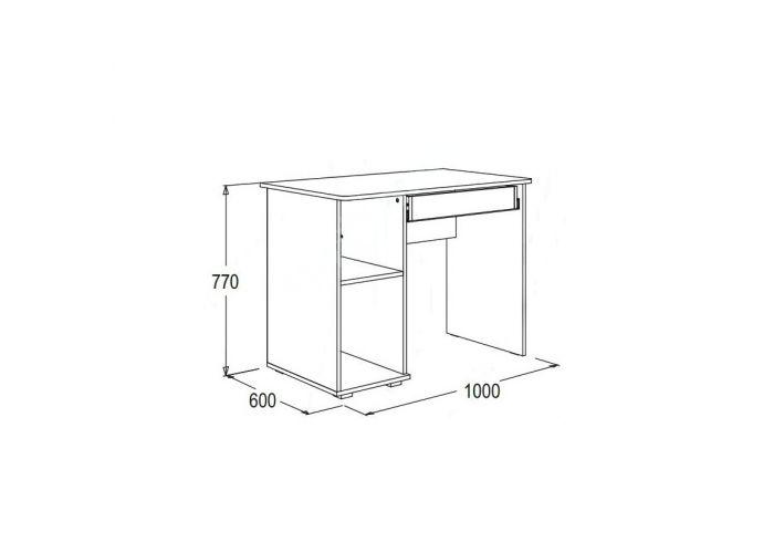 Омега 16 стол письменный №2