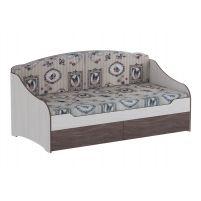 Омега 18 кровать одинарная  с подушками