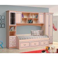Омега 7 с рамочным профилем МДФ набор мебели для детской
