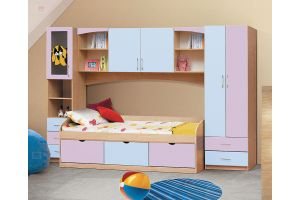Омега 7 МДФ набор мебели для детской