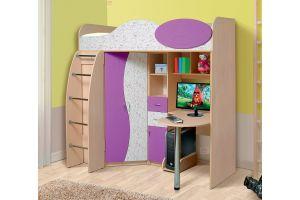 Омега 9 МДФ набор мебели для детской