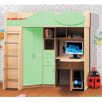 Омега 9 ЛДСП  набор мебели для детской