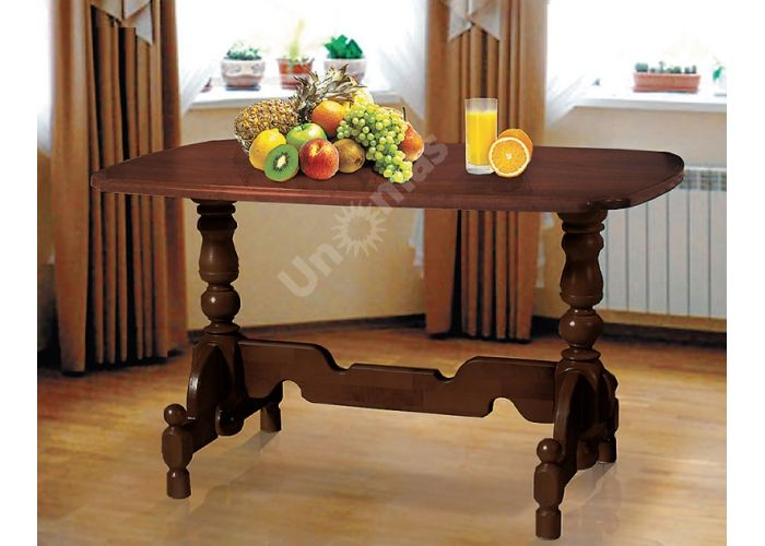 Стол обеденный 2 1300*800  массив