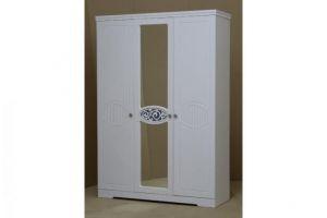 Ольга 12 МДФ шкаф 3-х дверный для одежды и белья
