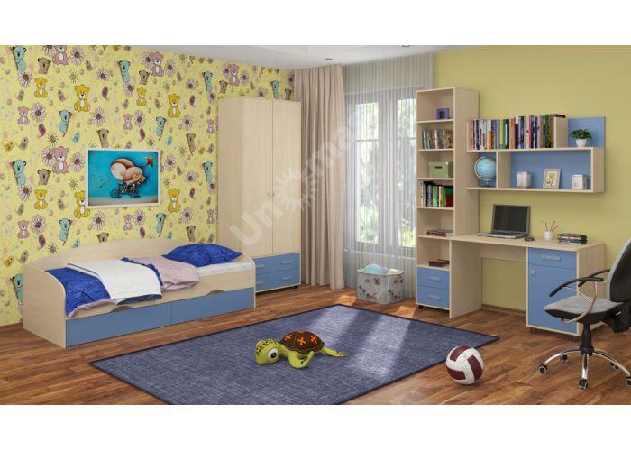 Дельта 19 Кровать подростковая , Детская мебель, Детские кровати, Стоимость 7590 рублей., фото 9