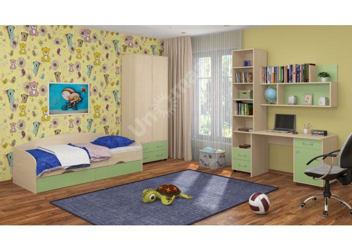Дельта 19 Кровать подростковая , Детская мебель, Детские кровати, Стоимость 7590 рублей., фото 2