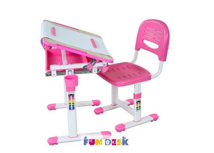 Bambino Pink, Детская мебель, Детские парты, Стоимость 9990 рублей.