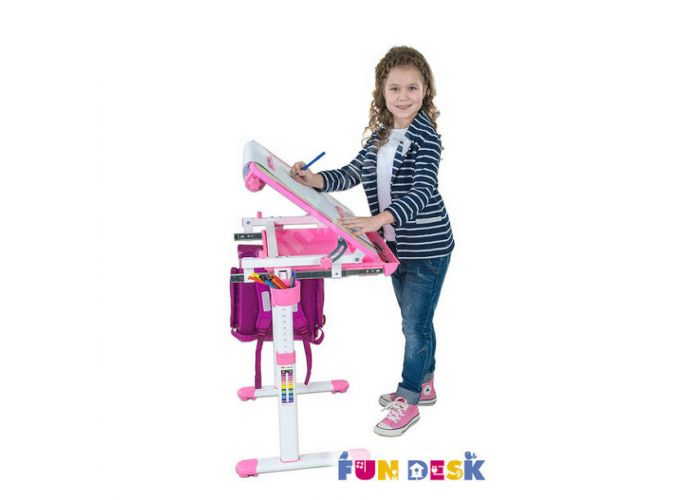 Bambino Pink, Детская мебель, Детские парты, Стоимость 9990 рублей., фото 10