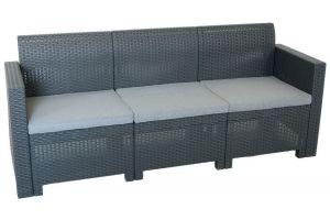 Nebraska Sofa 3 диван трехместный