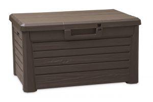 Wood Look Storage Box Florida Compact