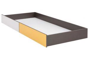 График Белый/Желтый блеск, 022 Тумба для постельных принадлежностей