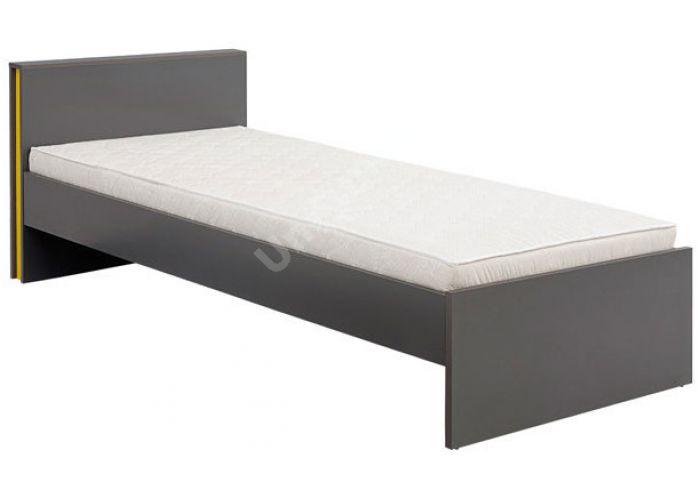 График Серый вольфрам, 023 Кровать 90, Спальни, Кровати, Стоимость 6000 рублей., фото 2