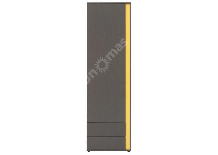 График Серый вольфрам, 014 Шкаф REG1D2SL, Офисная мебель, Офисные пеналы, Стоимость 8775 рублей.