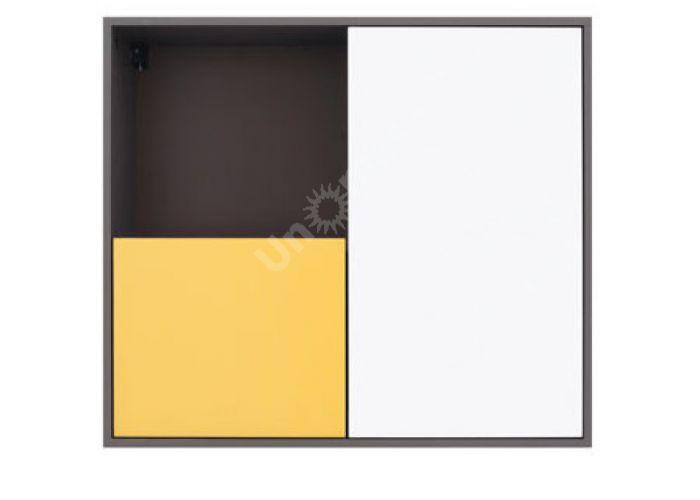 График Белый/Желтый блеск, 006 Шкаф навесной SFW2D/86/75, Офисная мебель, Полки, Стоимость 4575 рублей.