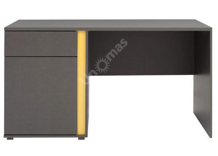 График Серый вольфрам, 008 Стол письменный BIU1D1SL, Офисная мебель, Компьютерные и письменные столы, Стоимость 8250 рублей.