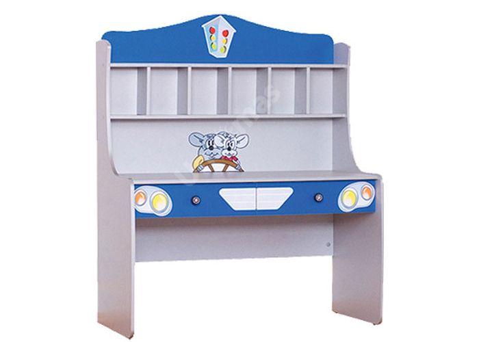 Лео Синий, L-005 Стол письменный, Офисная мебель, Компьютерные и письменные столы, Стоимость 9759 рублей.