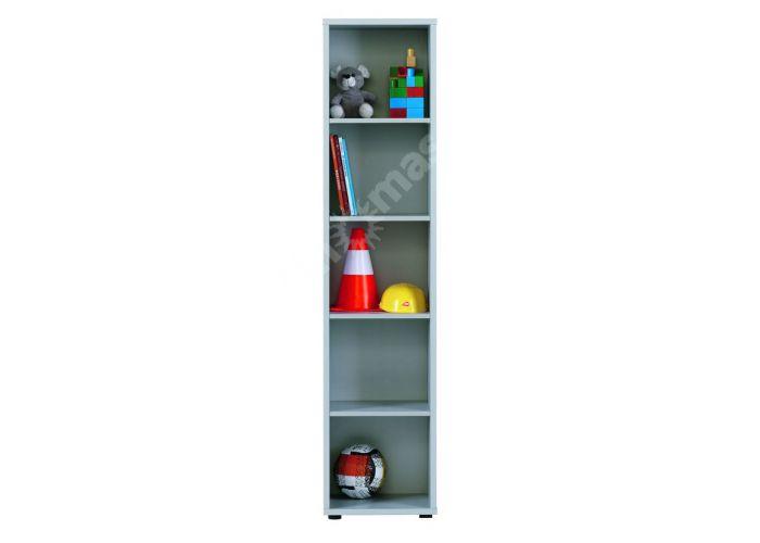 Лео Алюминий, L-014 Стеллаж 40, Офисная мебель, Офисные пеналы, Стоимость 5409 рублей.
