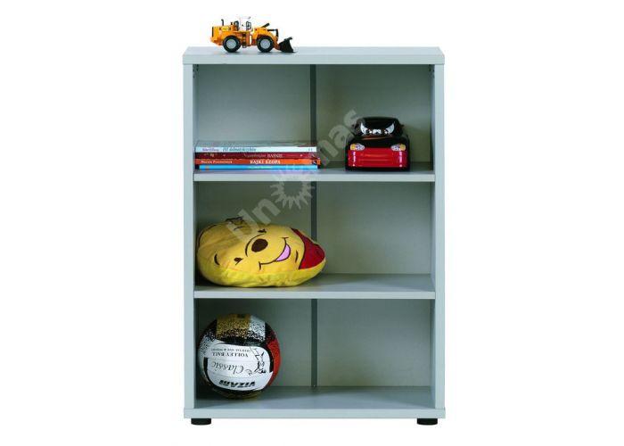 Лео Алюминий, L-013 Стеллаж 60, Офисная мебель, Офисные пеналы, Стоимость 3291 рублей.