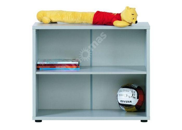 Лео Алюминий, L-012 Стеллаж 80, Офисная мебель, Офисные пеналы, Стоимость 3094 рублей.