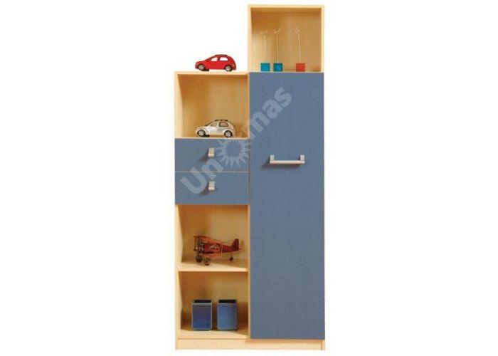 Спидо (Spido), Шкаф SREG 1d2s, Детская мебель, Модульные детские комнаты, Стоимость 12635 рублей.