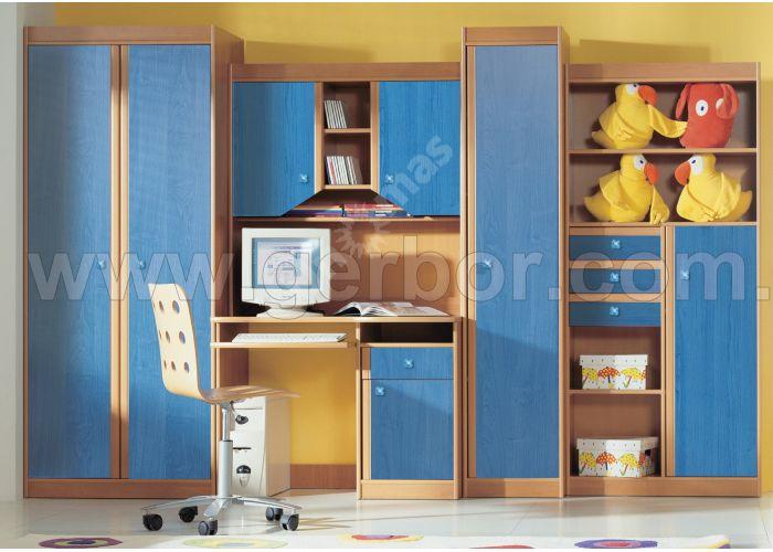 Юниор цветной, Детская мебель, Детские стенки, Стоимость 29072 рублей.