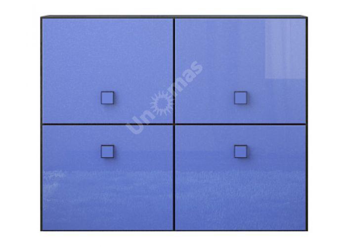 Аватар Синий металлик, D Тумба 4d, Спальни, Комоды, Стоимость 9272 рублей.
