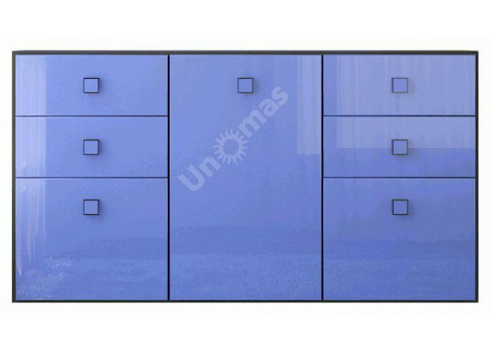 Аватар Синий металлик, F Комод 3d4s, Спальни, Комоды, Стоимость 15263 рублей.
