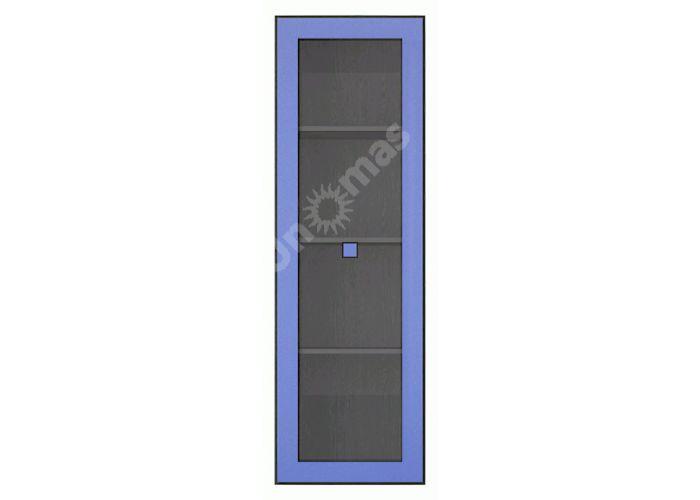 Аватар Синий металлик, H Витрина 1w, Офисная мебель, Офисные пеналы, Стоимость 8991 рублей.