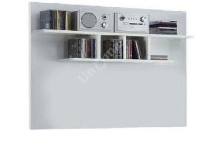 Янг (Jang) Белый глянец, 008 Полка PAN 8 11, Гостиные, Модульные гостиные системы, Янг (Jang) Белый глянец, Стоимость 3825 рублей.