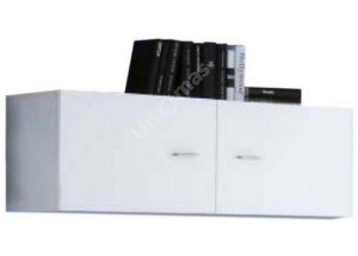 Янг (Jang) Белый глянец, 006 Шкаф настенный SFW2D 4 11, Офисная мебель, Полки, Стоимость 4509 рублей.