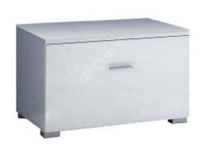 Янг (Jang) Белый глянец, 001 Тумба RTV1S 4 6, Гостиные, ТВ Тумбы, Стоимость 4346 рублей.