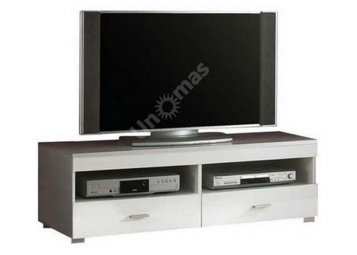Янг (Jang) Белый глянец, 003 Тумба RTV2S 4 12, Гостиные, ТВ Тумбы, Стоимость 11381 рублей.