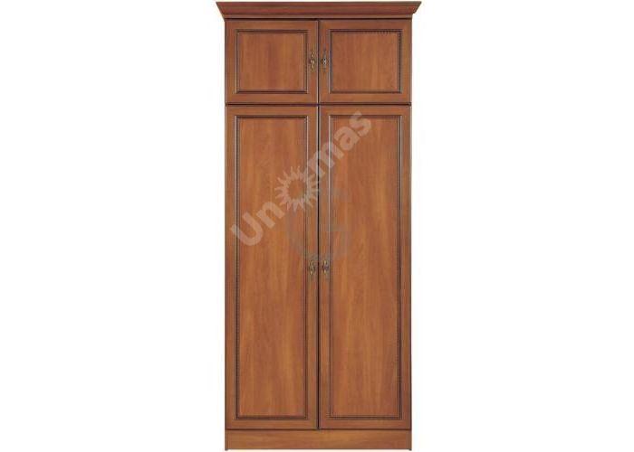 Виктор Яблоня темная, 001 Шкаф, Спальни, Шкафы, Стоимость 12853 рублей.