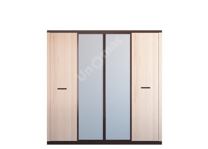 Кармен, 021 Шкаф 4d+020 Надставка шкаф 4d, Спальни, Шкафы, Стоимость 28800 рублей.