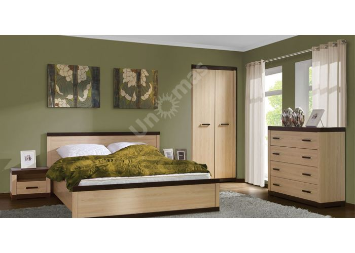 Кармен, 017 Шкаф 2d, Спальни, Шкафы, Стоимость 14634 рублей., фото 2