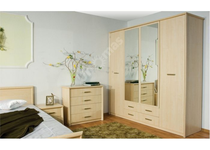Ким, KM-010 Кровать 160 (каркас), Спальни, Кровати, Стоимость 12366 рублей., фото 4