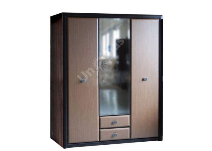 Коэн штрокс темный, 015 Шкаф SZF3D2S, Спальни, Шкафы, Стоимость 29550 рублей.