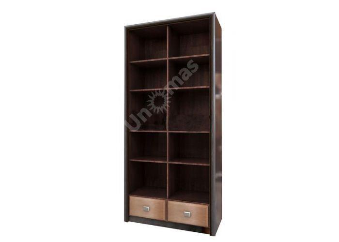Коэн штрокс темный, 013 Стеллаж REG2S, Офисная мебель, Офисные пеналы, Стоимость 11691 рублей.