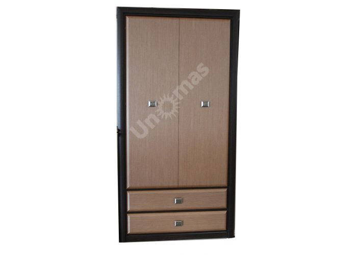 Коэн штрокс темный, 014 Шкаф SZF2D2S, Спальни, Шкафы, Стоимость 27440 рублей.
