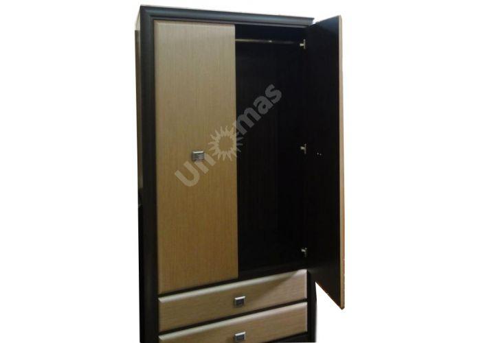 Коэн штрокс темный, 014 Шкаф SZF2D2S, Спальни, Шкафы, Стоимость 24550 рублей., фото 7