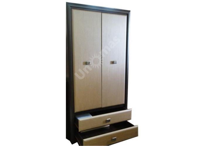 Коэн штрокс темный, 014 Шкаф SZF2D2S, Спальни, Шкафы, Стоимость 27440 рублей., фото 5