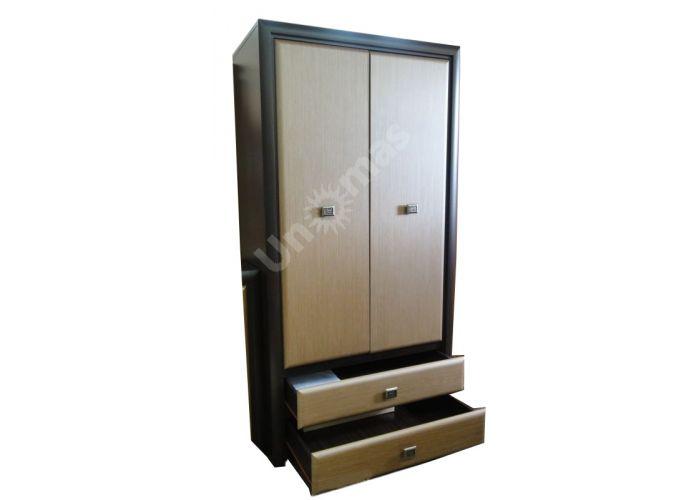 Коэн штрокс темный, 014 Шкаф SZF2D2S, Спальни, Шкафы, Стоимость 24550 рублей., фото 2