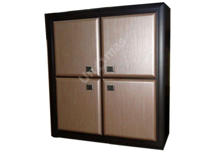 Коэн штрокс темный, 011 Шкафчик KOM4D, Спальни, Комоды, Стоимость 15345 рублей.