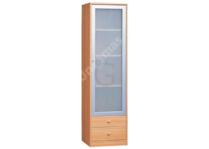 Поп, PS-017а Витрина kw2s/19/5 (матовое стекло), Офисная мебель, Офисные пеналы, Стоимость 7050 рублей.