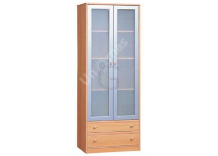 Поп, PS-018а Витрина kw2s/19/7 (матовое стекло), Офисная мебель, Офисные пеналы, Стоимость 9375 рублей.