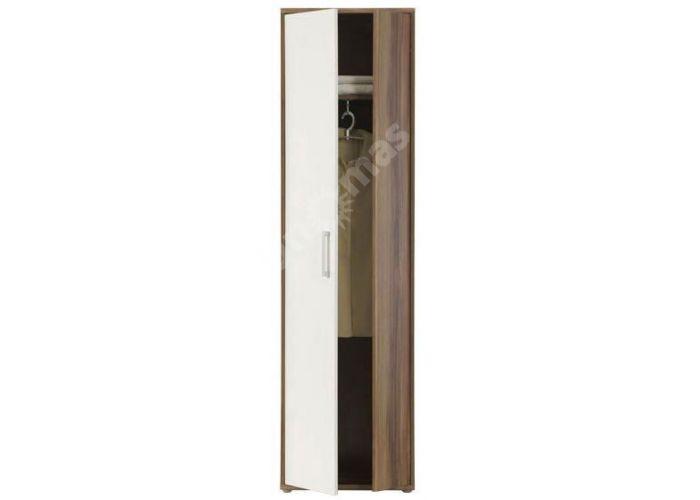 Эсмеральда Слива/Белый глянец, 003 Шкаф SZF2D, Спальни, Шкафы, Стоимость 6300 рублей., фото 4