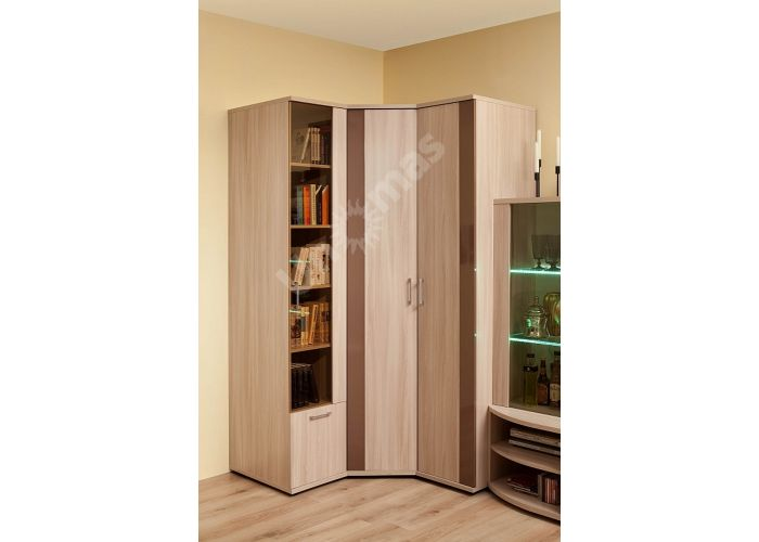 Berlin 10 Шкаф для книг, Гостиные, Витрины и буфеты, Стоимость 8672 рублей., фото 2