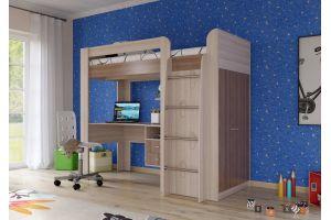 Кровать-чердак Степ 800